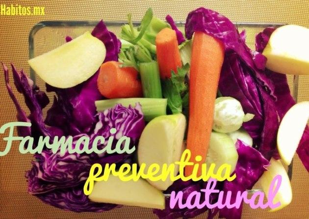 Buenos hábitos - farmacia preventiva natural