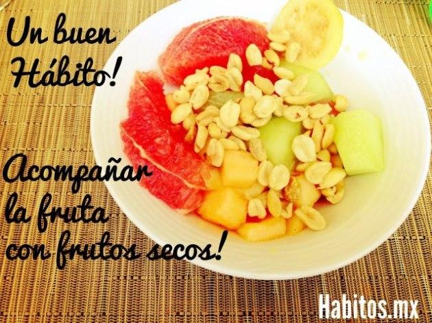 Buenos hábitos - frutos secos