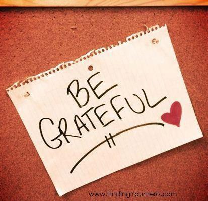 Buenos hábitos - grateful