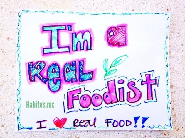 Buenos hábitos - real foodist