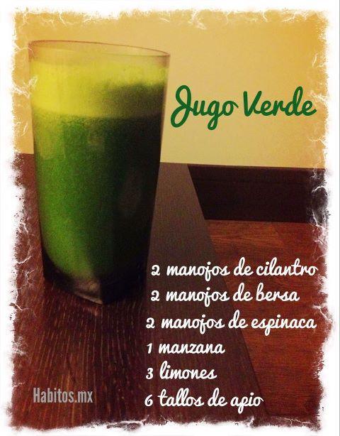 Juicing - jugo verde