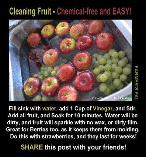 Recetas - desinfectar vegetales