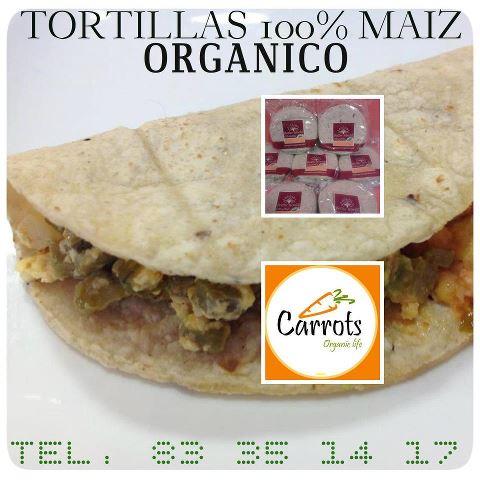 recetas - tortillas de maiz orgánico