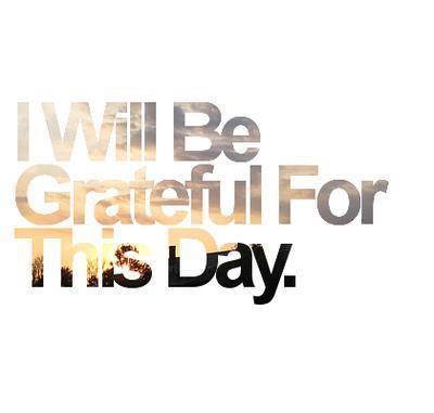 spiritual path - grateful