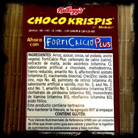 Buenos hábitos - ingredientes tóxicos en los cereales