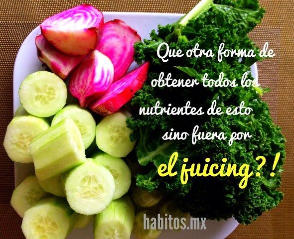 Buenos hábitos - obtener nutrientes