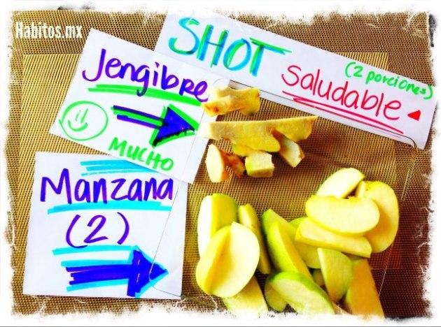 Buenos hábitos - shot saludable