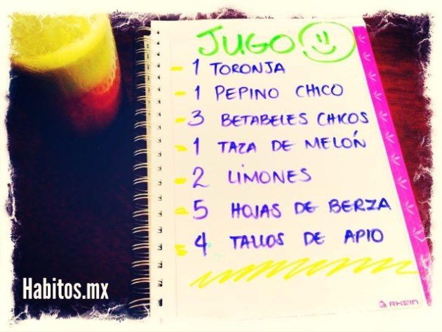 Juicing - jugo toronja, pepino y betabel