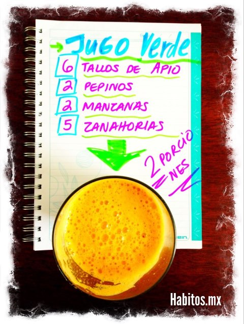 Juicing - jugo verde para levantarnos