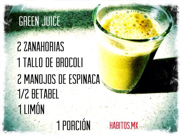 Juicing - zanahorias, brocoli y espinacas