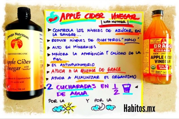 Recetas - apple cider vinegar