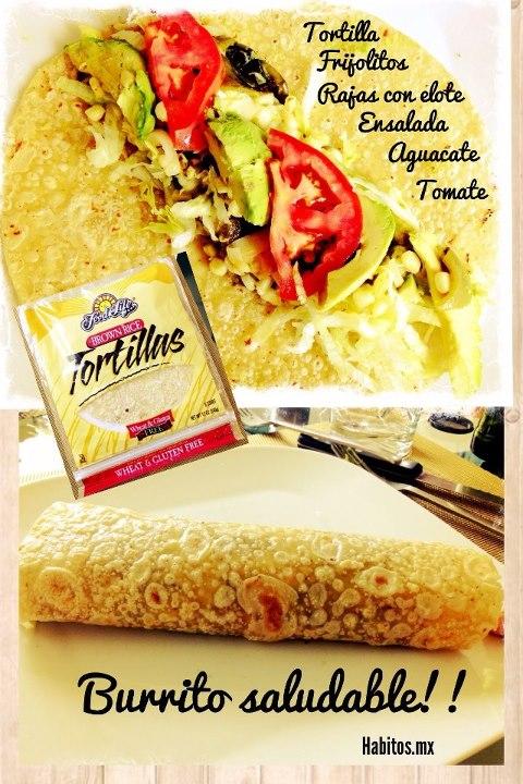 Recetas - burrito casero