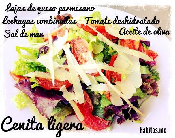 Recetas - cena de ensalada ligera
