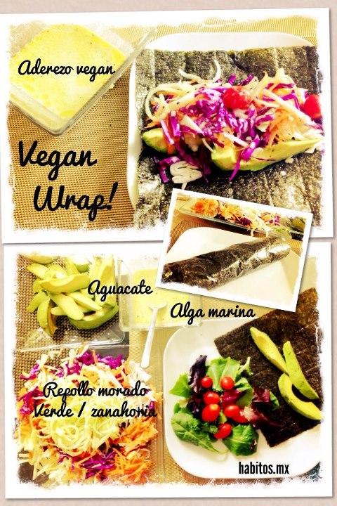 Recetas - vegan wrap